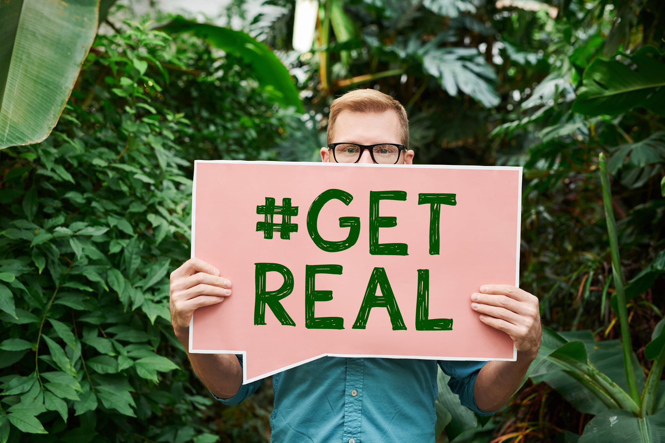 What Does #GetReal Mean