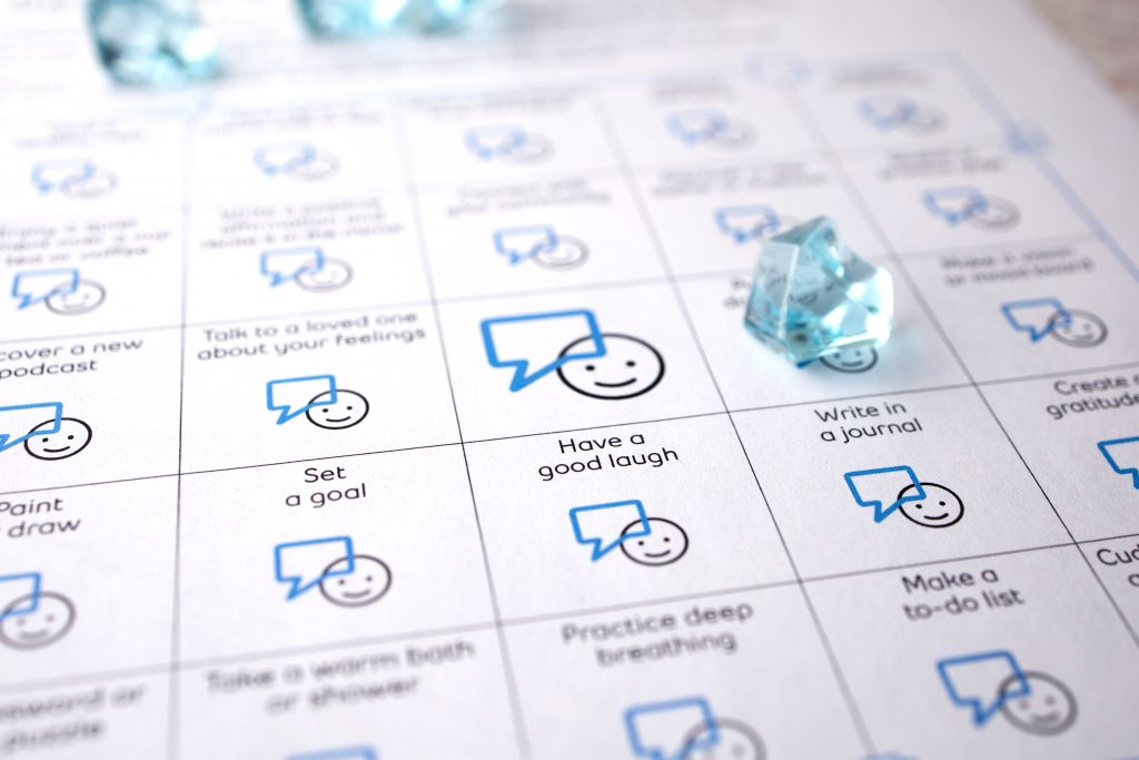 Self Care Bingo Sheet