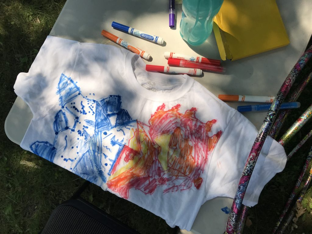 Inner Strength T Shirt Craft