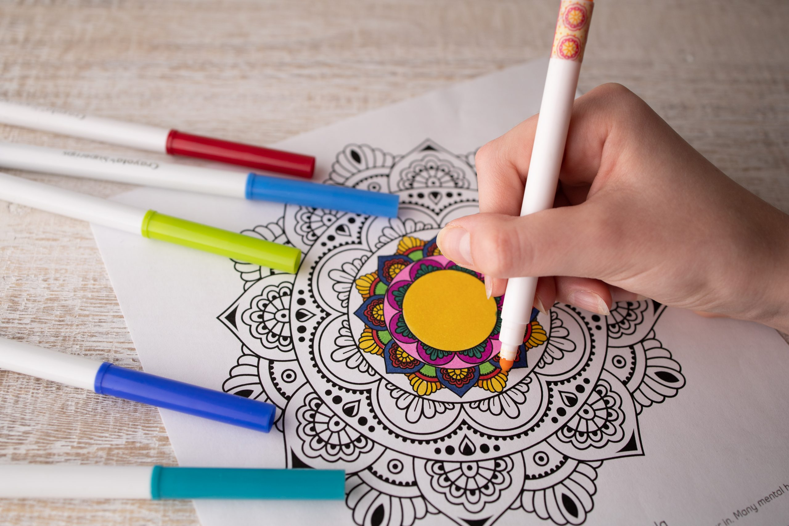 mindfulness colouring pdf